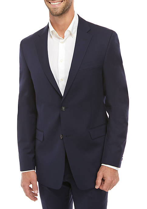 Twill Stretch Classic Fit Suit Separate Coat