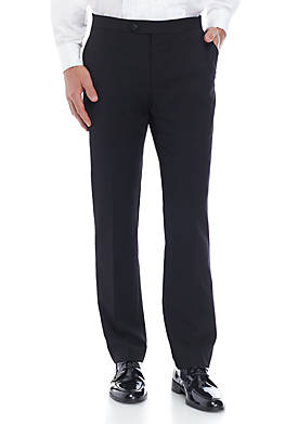 Twill Stretch Classic Fit Tuxedo Pants Separate