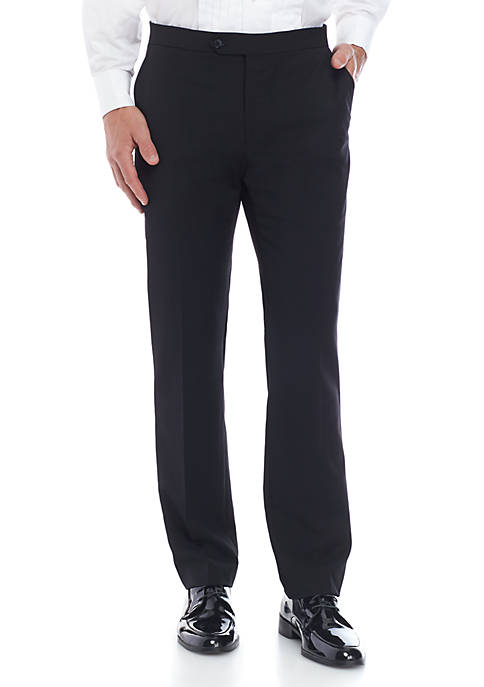 Twill Stretch Classic Fit Tuxedo Pants