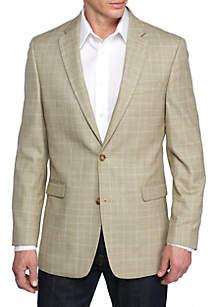 Tan Plaid Deco Sport Coat