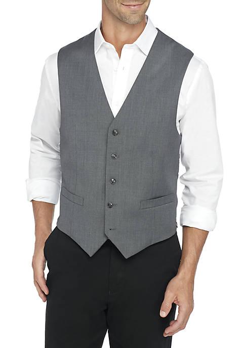 Sharkskin Suit Separate Vest