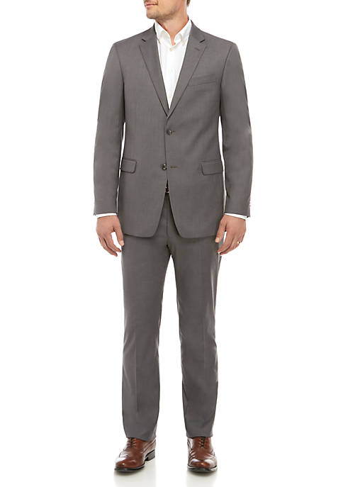 Twill Classic Fit Suit