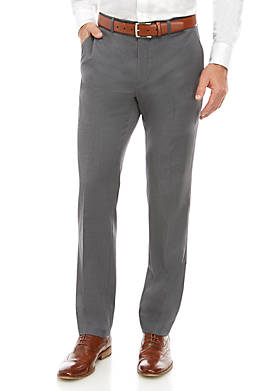 Solid Stretch Classic Fit Pants Separate