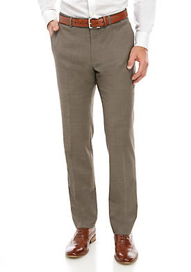 Sharkskin Stretch Classic Fit Pants Separate