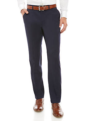 Twill Stretch Classic Fit Pants Separate