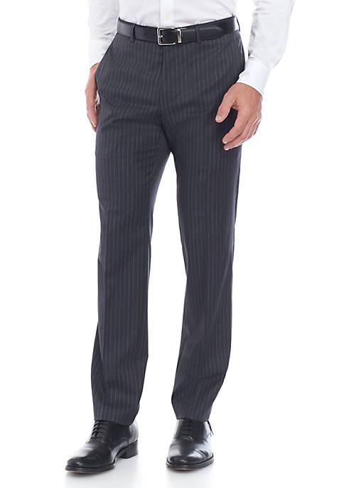 Stripe Stretch Classic Fit Suit Separate Pants