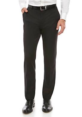 Stripe Stretch Classic Fit Pants Separate