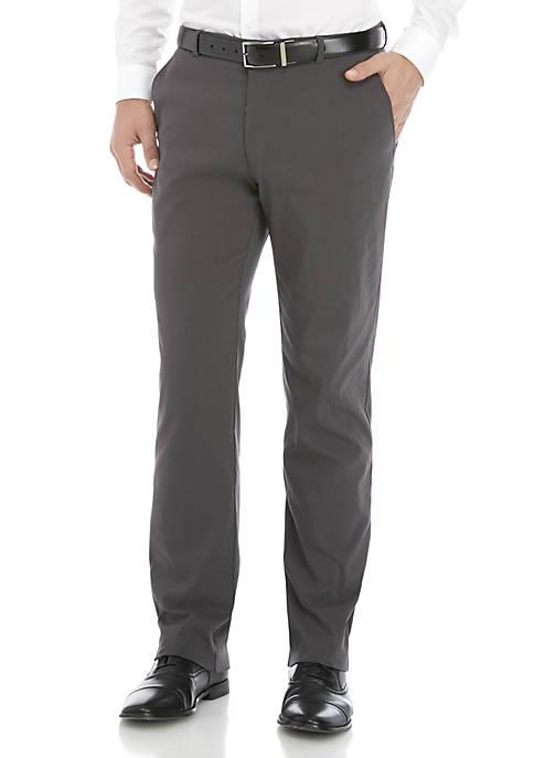 Flat Front Stretch Pants