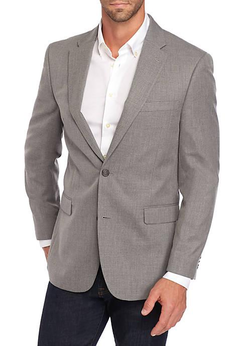 Textured Gray Sportcoat