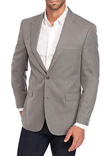 Tommy Hilfiger Textured Gray Sportcoat