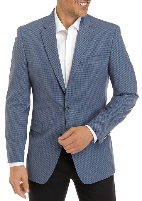 Mini Blue Check Suit
