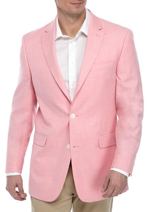 Tommy Hilfiger Berry White Diagonal Sport Coat