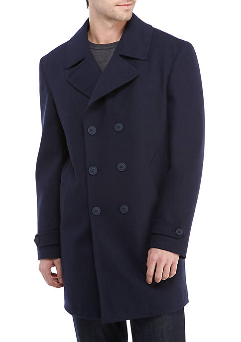 Tommy Hilfiger Double Ted Indigo, Tommy Hilfiger Peacoat With Hood