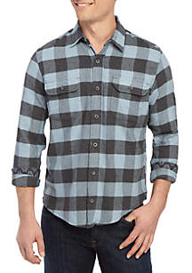 Tailor Vintage Buffalo Stretch Performance Flannel Shirt
