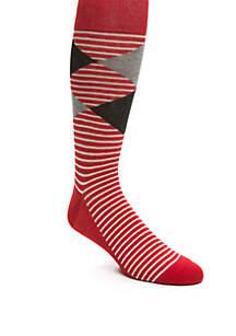 Diamond Stripe Sock