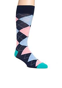 Big & Tall Argyle Socks