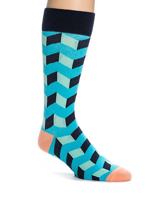 Crown & Ivy™ Optic Box Socks