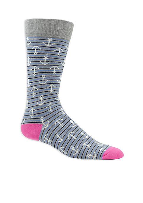 Crown & Ivy™ Anchor Socks