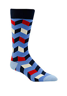Crown & Ivy™ 3D Box Socks