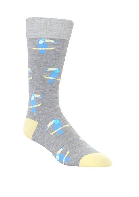 Mens Toucan Crew Socks