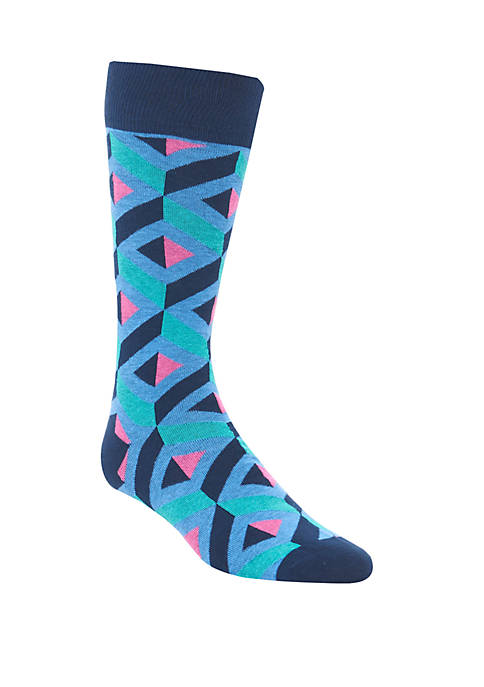 Crown & Ivy™ Lattice Crew Socks
