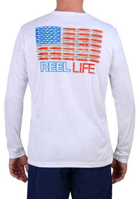 Long Sleeve Merica Performance T-Shirt
