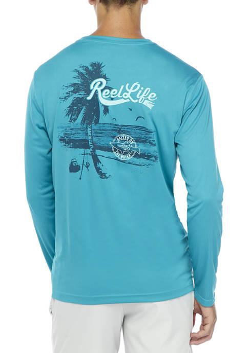 Reel Life Sun Defender Long Sleeve T-Shirt