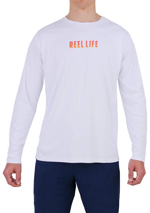 Mens Long Sleeve Coastal Performance Shirt
