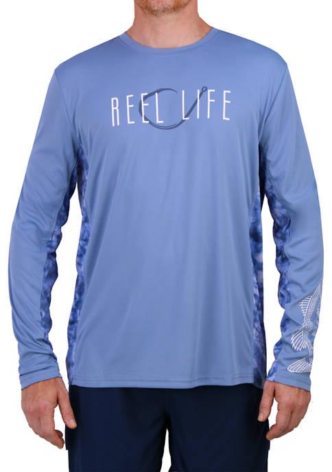Long Sleeve Tie-Dye Waterman Performance T-Shirt