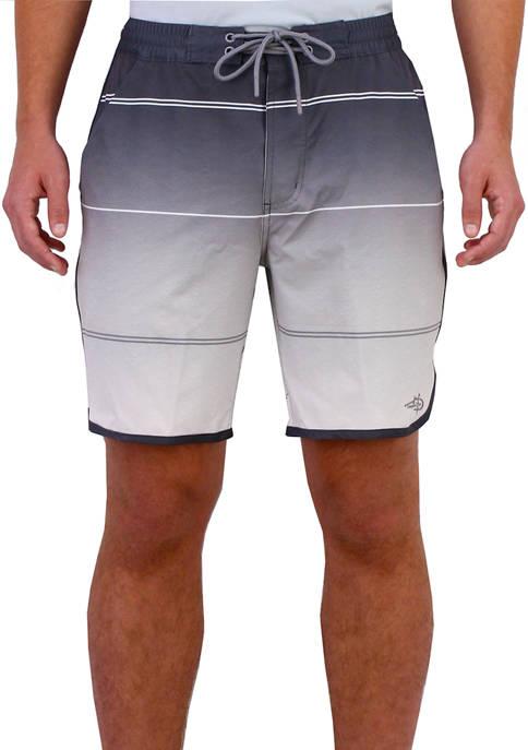 Mens Wavy Lines Shorts