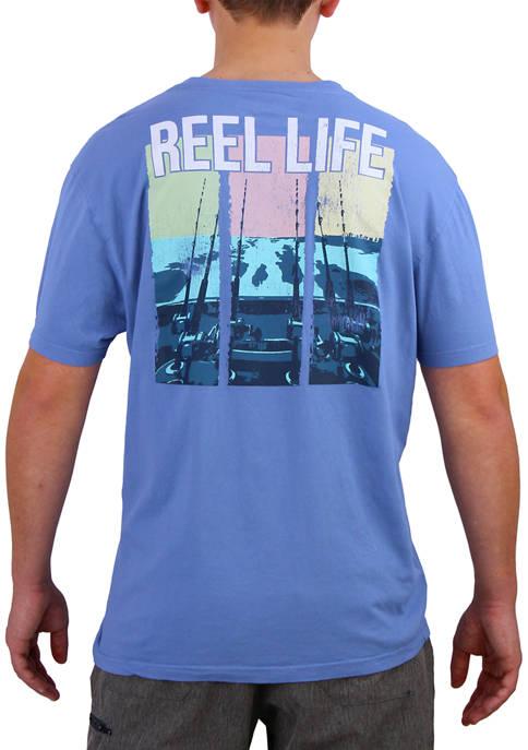Reel Life Short Sleeve Trollin T-Shirt