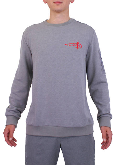 Reel Life Bayfront Brushed French Terry Pullover