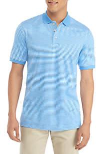Short Sleeve Stripe Polo