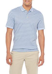 Madison Short Sleeve Stripe Polo