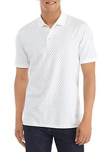 Madison Short Sleeve Printed Polo