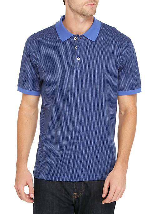 Short Sleeve Printed Polo