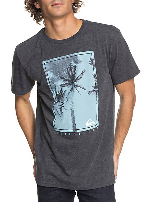 Quiksilver™ Short Sleeve Palm Shock Graphic Tee
