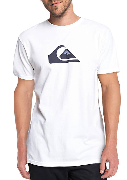 Quiksilver™ Short Sleeve Shirt with Screenprint Logo