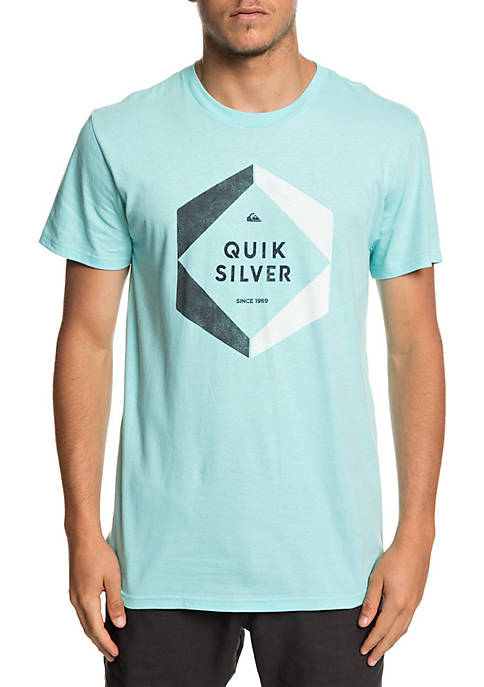 Quiksilver™ Aqua Splash Short Sleeve Hexa Logo T-Shirt