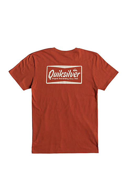 Short Sleeve Logo Screenprint T-Shirt