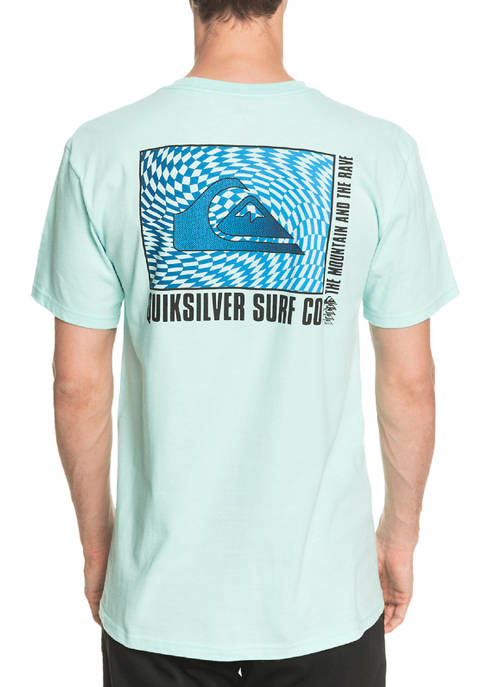 Quiksilver™ Short Sleeve Mirror Play Graphic T-Shirt