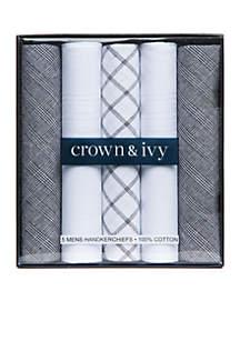 Set of 5 Handkerchiefs