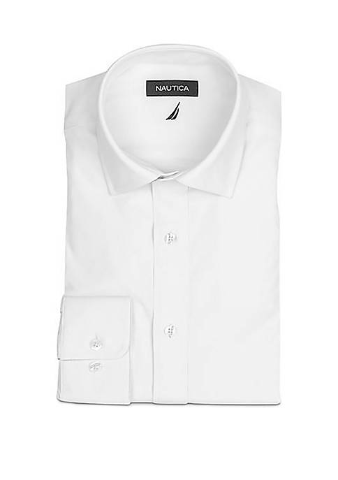 Performance Classic Fit Solid Dress Shirt