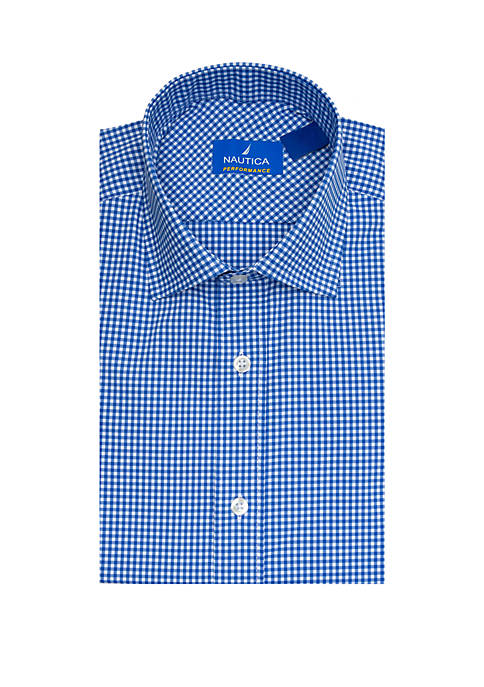 Performance Classic Fit Gingham Dress Shirt