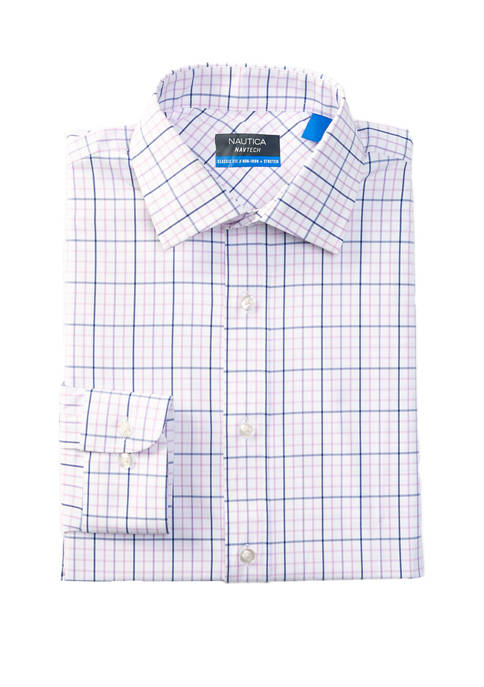 Nautica Navtech Performance Stretch Collar Dress Shirt