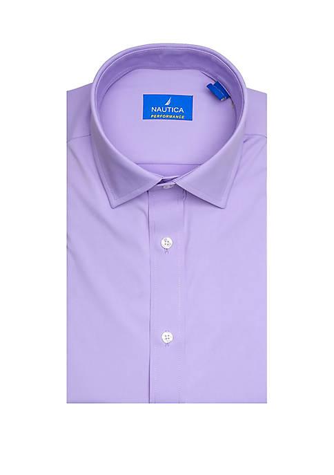 Performance Classic Fit Solid Dress Shirt