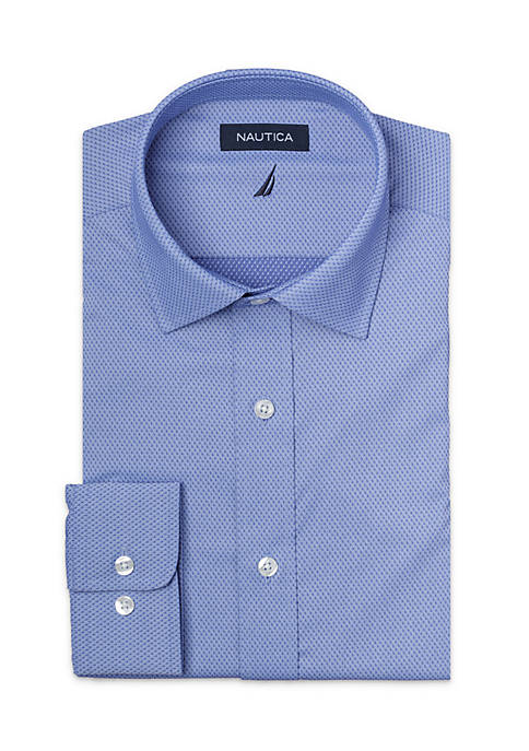 Nautica Dobby Dress Shirt