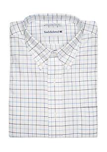 Saddlebred® Tattersall Oxford Button-Down Shirt