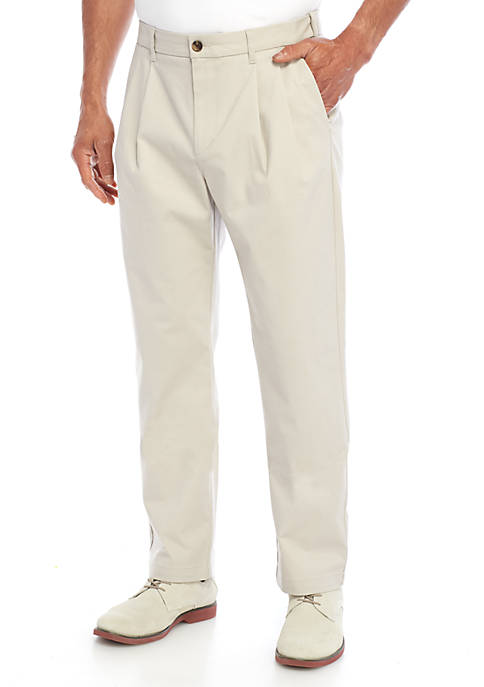 Saddlebred® Casual Pleat Pants