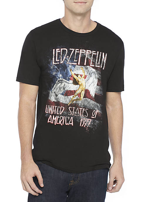 ARACA GROUP Led Zeppelin Americana Graphic T-Shirt